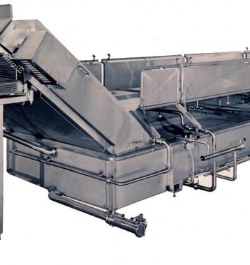 CMT Sistema de Enfriamiento y Salado de Queso